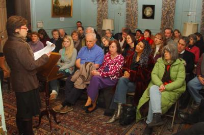 audience at a reading